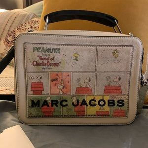 Marc jacobs the box bag X peanuts 😊